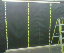 Acoustiblok installation, Fleming College, Ontario