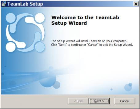 TeamLab server solution