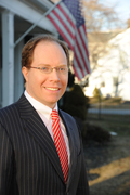 Democrat Julian Schreibman, former federal prosecutor and candidate for Congress from NY-22