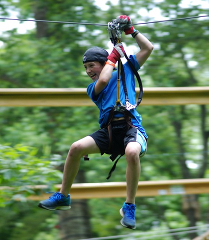 Oh, that treetop feeling at The Adventure Park! (Photo: Outdoor Ventures)