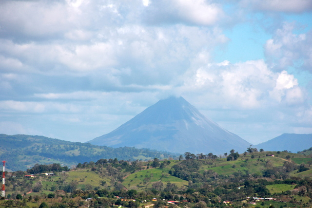 The iconic Arenal Volcano
