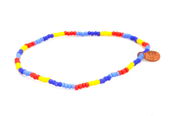 The design of these autism bracelets was inspired by our partnership with the Autism Society.