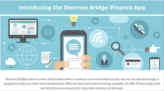 Access multiple calculators, checklists, guides and more at Sherman Bridge iFinance App. This one-stop resource is designed to help you get the most out of your money.