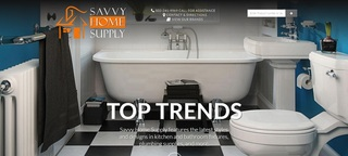 Louisville Kitchen & Bathroom Remodeling Company Savvy Home Supply Launches Online Digital Showroom with Thousands o…