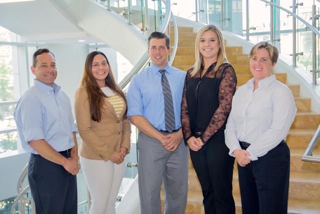 Left to right: Professor Steven Berenson, Melissa Madrid (2L), Ryan White (2L), Cashel White (2L), Professor Tiffany Gilmartin