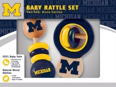 MasterPieces' University of Michigan Rattle