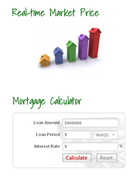 Real Time Market Price and Mortgage Calculator for Dubai & UAE Property Market