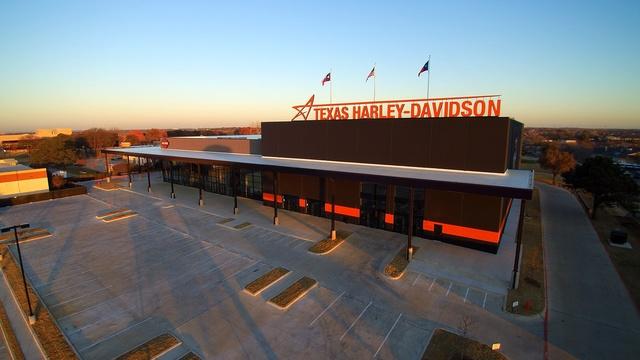 Texas Harley-Davidson in Bedford, Texas, built by Design Build Contractor Bob Moore Construction.