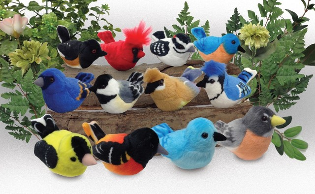 The new, updated flock of Audubon Birds from Wild Republic