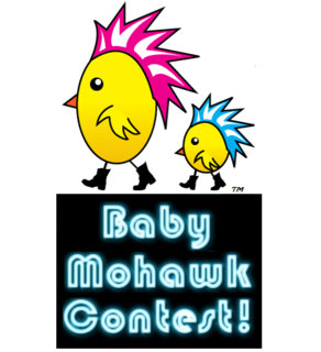 Baby Rebellion Baby Mohawk Contest