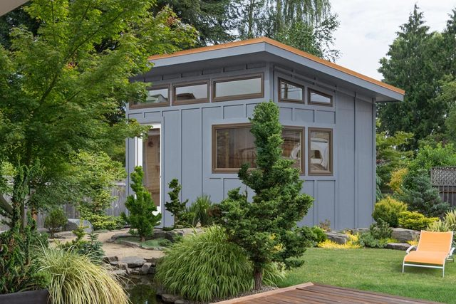 Modern Sheds And Modern Home Office Designs Released By