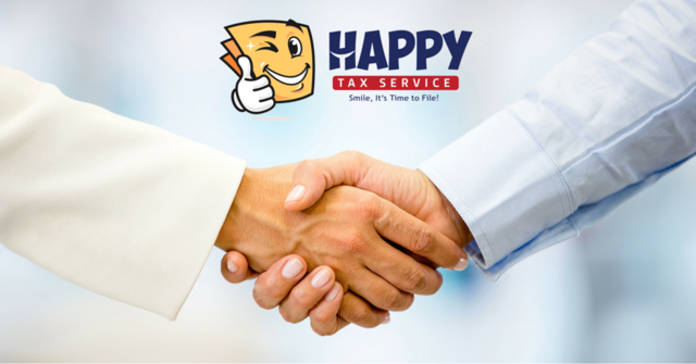 Happy Tax Helping Hands