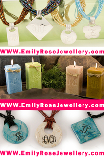 EmilyRoseJewellery.com Offers monogrammed silver bracelets,rings,pendants, and personalized gifts