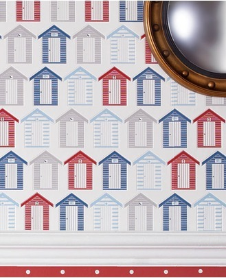 Bathroom and kitchen wallpaper collection released by for Graham and brown bathroom wallpaper