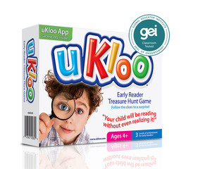 Just in Time for Back to School: uKloo Early Reader Treasure Hunt Earns The Global Educator Institute Seal o…