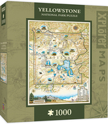 MasterPieces Yellowstone Xplorer Maps Jigsaw Puzzle