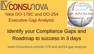 ConsuNova offers new Executive Gap Analysis, optimized to discover DO-178C and DO-254 certification Gaps with practical …