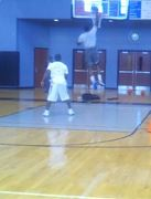 Quincy Roberts Dunks at Demo