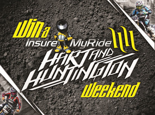 Go behind the scenes with Hart & Huntington in the InsureMyRide Race Weekend Competition