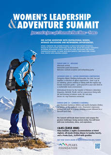 Women's Leadership & Adventure Summit