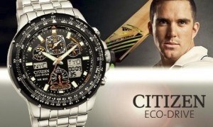Citizen Watches Ambassador Kevin Pietersen