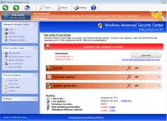Windows Defending Center's screen of supposed security essentials