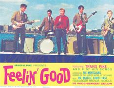 """Theater Lobby Card from the 1966 Movie """"FEELIN' GOOD"""""""