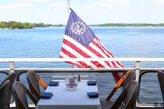 Cruises during Ryder Cup aboard Queen of Excelsior Luxury Yacht on Lake Minnetonka