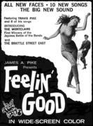 FEELIN' GOOD NEWSPAPER PR GRAPHIC - 1966