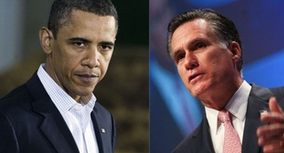 Obama and Romney Online Performance