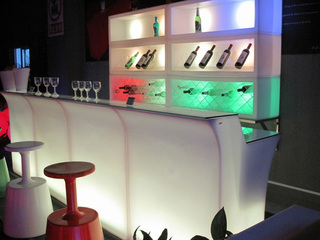 Special Event Rentals Now Has LED Lit Bar Rentals Available for Events