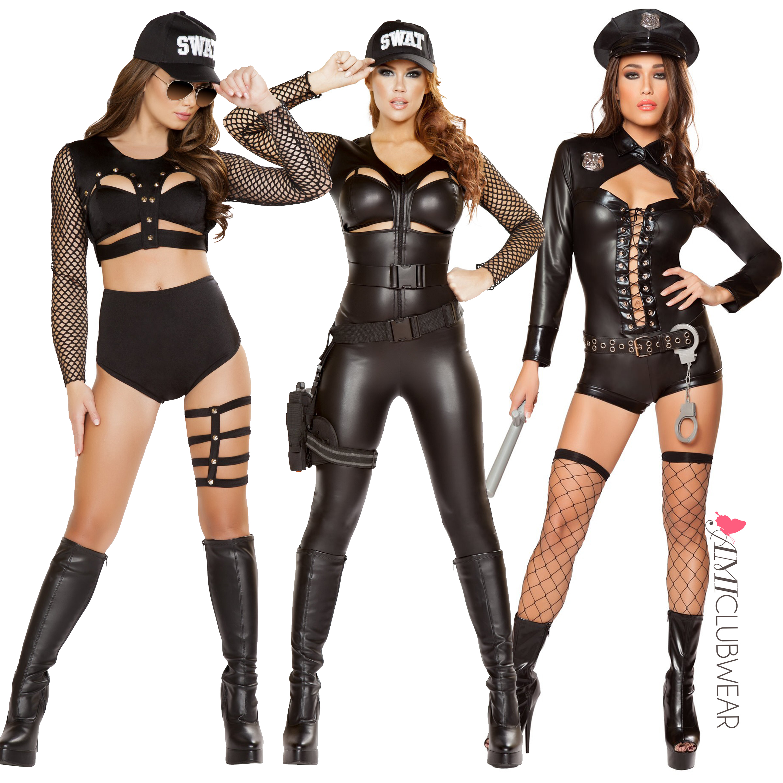 Sexy Swat Halloween Costumes  sc 1 st  PRLeap & Fashion e-commerce website AmiClubwear.com presents 2016 Halloween ...