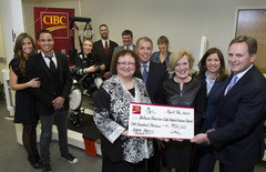 CIBC donates $500,000 to Holland Bloorview Kids Rehabilitation Hospital funding a revolutionary robotic therapy clinical trial for children with cerebral palsy and other neurological disorders.