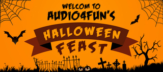 A fang-tastic Halloween feast from Audio4fun for all ghosts, goblins, and pranksters