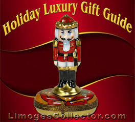 Holiday Luxury Gift Guide with Unique & Impressive Gifts for All at LimogesCollector.com