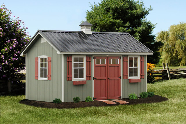 The Lancaster | Portable Sheds and Structures in KY and TN