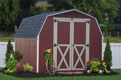 """The Old Time """"Little Red Barn"""" in PA"""