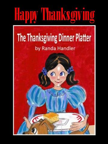 Cover of Randa Handler's children's book that circulates as Thanksgiving card