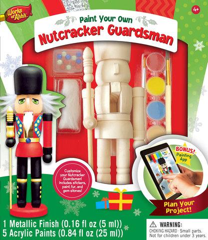 MasterPieces Works of Ahhh nutcracker craft kit