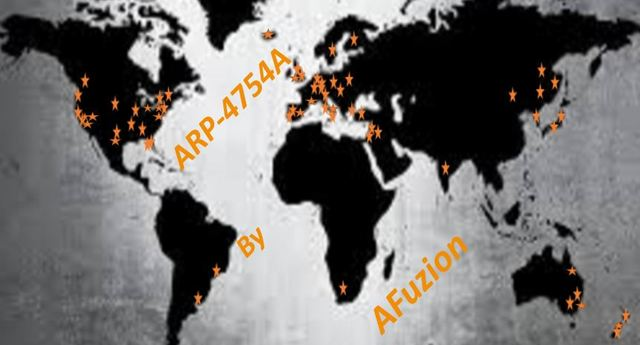 AFuzion's ARP-4754A Training Worldwide