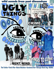 """Winter issue of Ugly Things features Travis Pike interview and review of his book, ""Odd Tales and…"