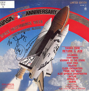 Judy Pike's Signed Ventures in Space Album Cover