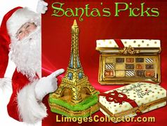 Limoges Box Gifts Recommended by Santa at LimogesCollector.com