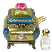 Exquisite Perfume Chest Limoges box from LimogesCollector.com