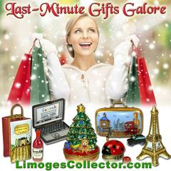 Good News for Last- Minute Shoppers - Luxury Limoges Box Gifts with Super Fast Shipping at LimogesCollector.com