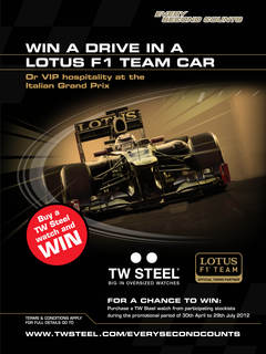 Win a Chance to Drive a Formula 1 Lotus