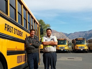First Student Utah Location Earns Perfect Score on Fleet Inspections