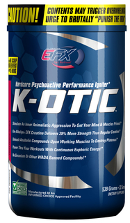 Pre-Workout Product K-OTIC Remains A Worldwide Best-Seller Amid Recent FDA DMAA Crackdown