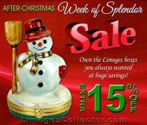 "After-Christmas ""Week of Splendor"" 15% Sale at LimogesCollector.com"