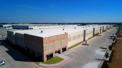 New Distribution Center at Trinity Blvd and SH 161 in Grand Prairie, Texas, by Bob Moore Construction.